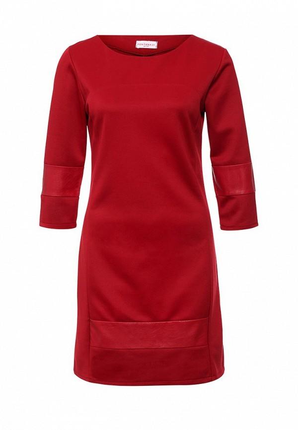 Платье-миди Fontana 2.0 IRENE_BORDO