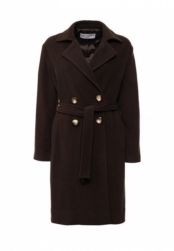 Женские пальто Fontana 2.0 MELISSA_MARRONE