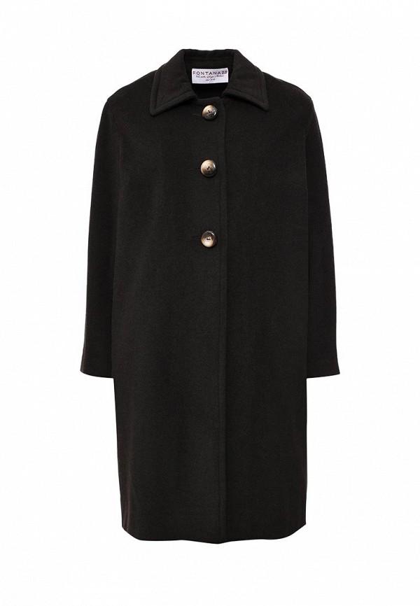 Женские пальто Fontana 2.0 NICOLE_MARRONE