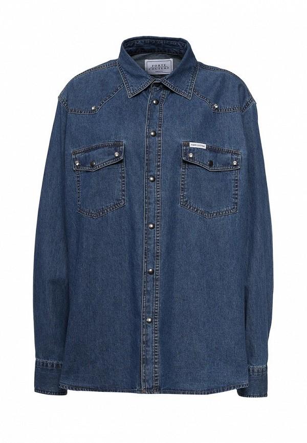 Рубашка джинсовая Forte Couture Forte Couture FO016EWPRP54