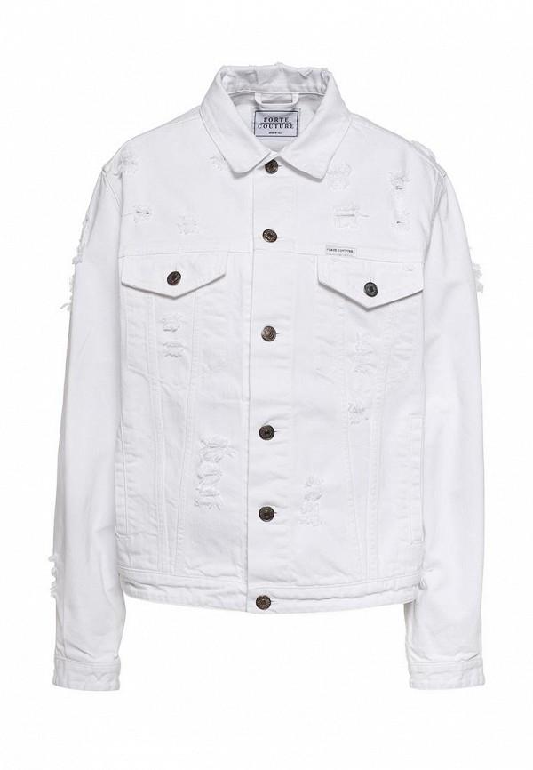 Куртка джинсовая Forte Couture Forte Couture FO016EWPRP55 iconic couture куртка
