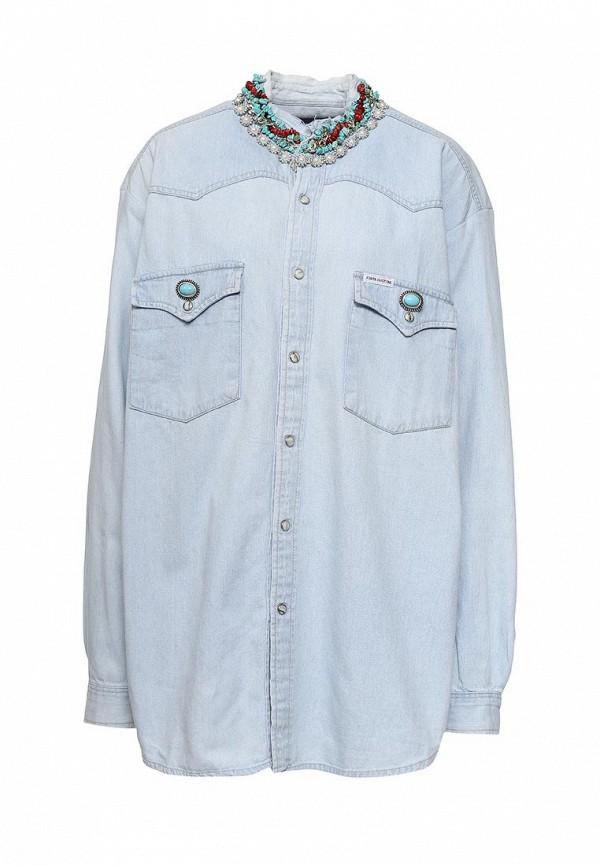 Рубашка джинсовая Forte Couture Forte Couture FO016EWPRP58 косметички forte бмк