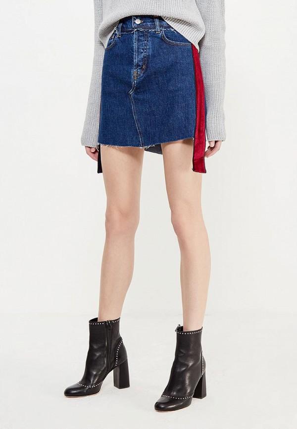 Юбка джинсовая Forte Couture Forte Couture FO016EWVJQ45 каталог forte