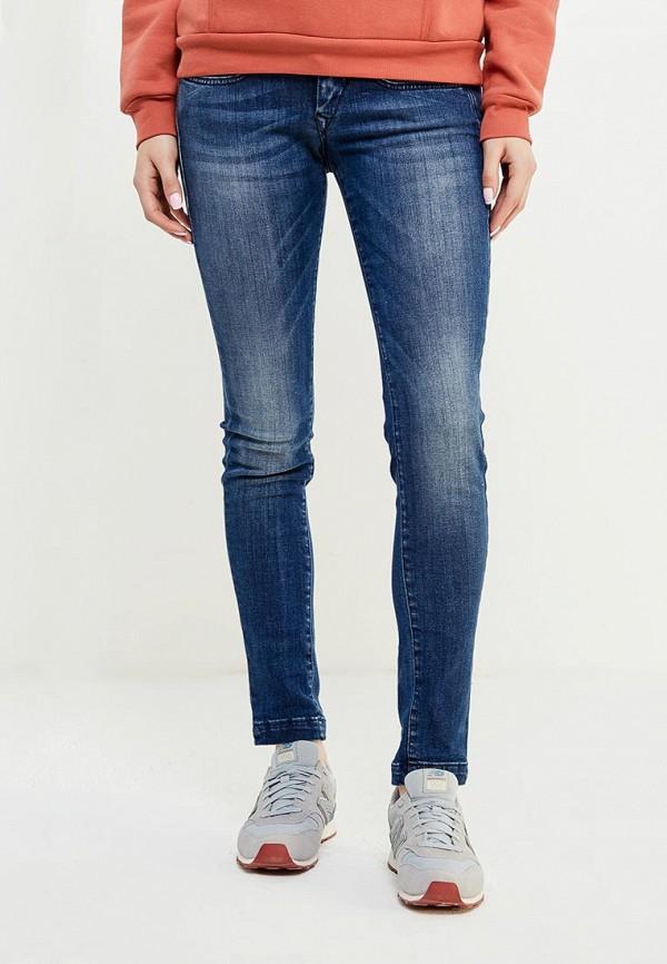 Купить женские джинсы Fornarina синего цвета