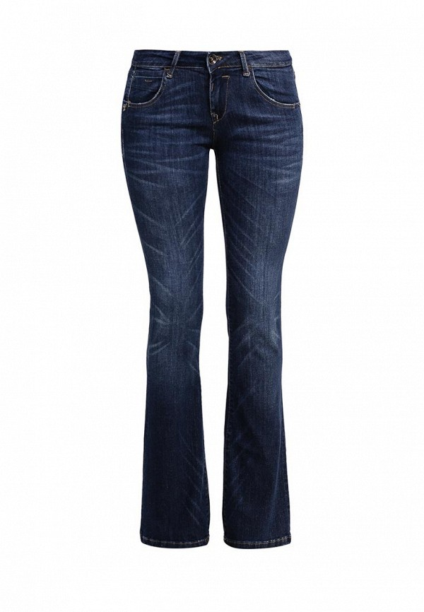Широкие и расклешенные джинсы Fornarina BIR1H24D807R76
