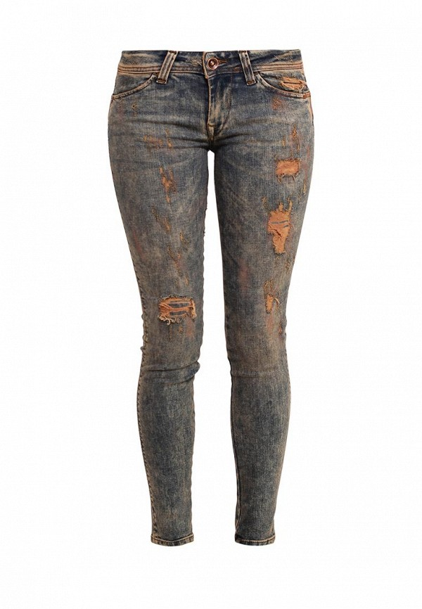 Зауженные джинсы Fornarina BIR1I36D814DV1