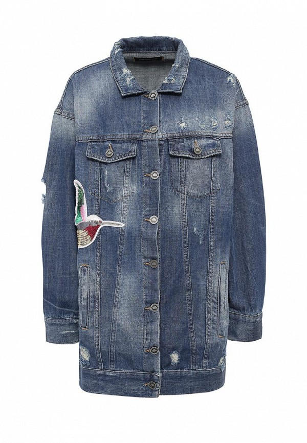 Куртка джинсовая Fornarina BE173C27D875AN
