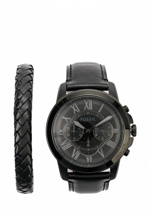 Комплект часы и браслет Fossil Fossil FO619DMSIF39 fossil fs4767 ucenka fossil