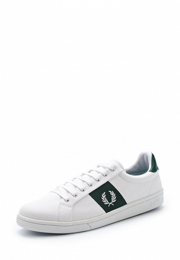 Кеды Fred Perry Fred Perry FR006AMAART2 футболка fred perry fred perry fr006ewzzw98