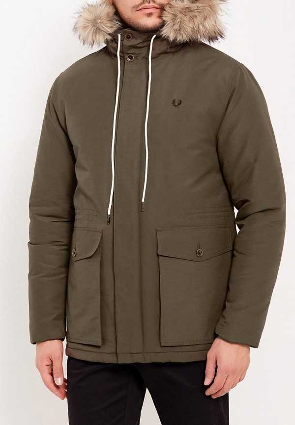 Куртка утепленная Fred Perry Fred Perry FR006EMYTS26 куртка парка женская fred perry wool parka grey