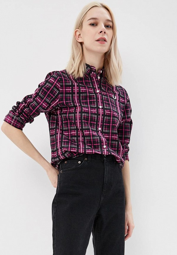 Рубашка Fred Perry Fred Perry FR006EWZZW74 fred perry рубашка в клетку fred perry check shirt blue black