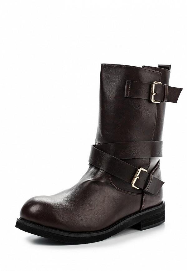 Полусапоги (HIGH BOOTS) W коричневый Francesco Milano