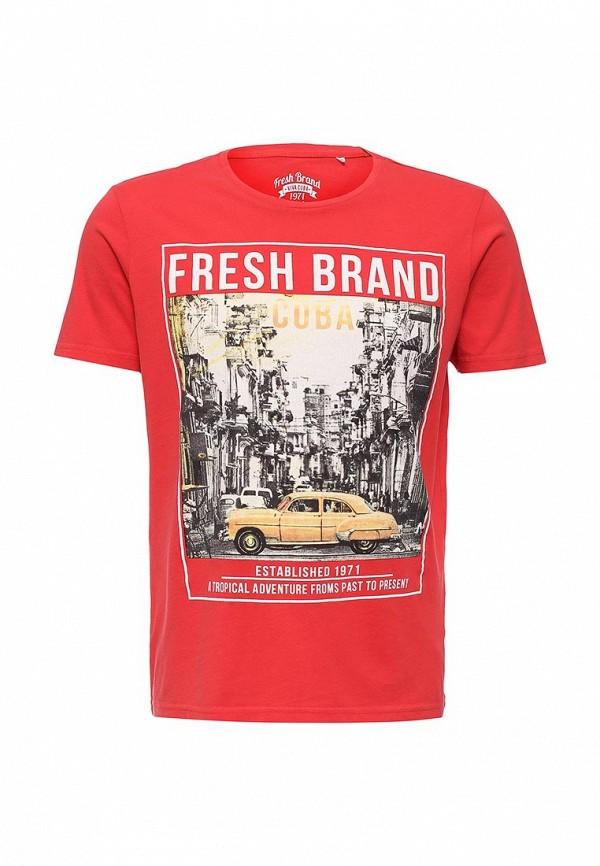 Футболка с надписями Fresh Brand SFTF106