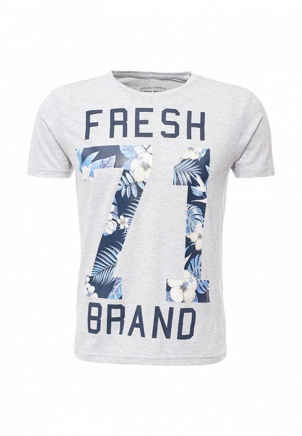 Футболка с надписями Fresh Brand SFTF172