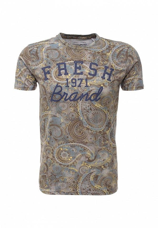 Футболка с надписями Fresh Brand SFTF241