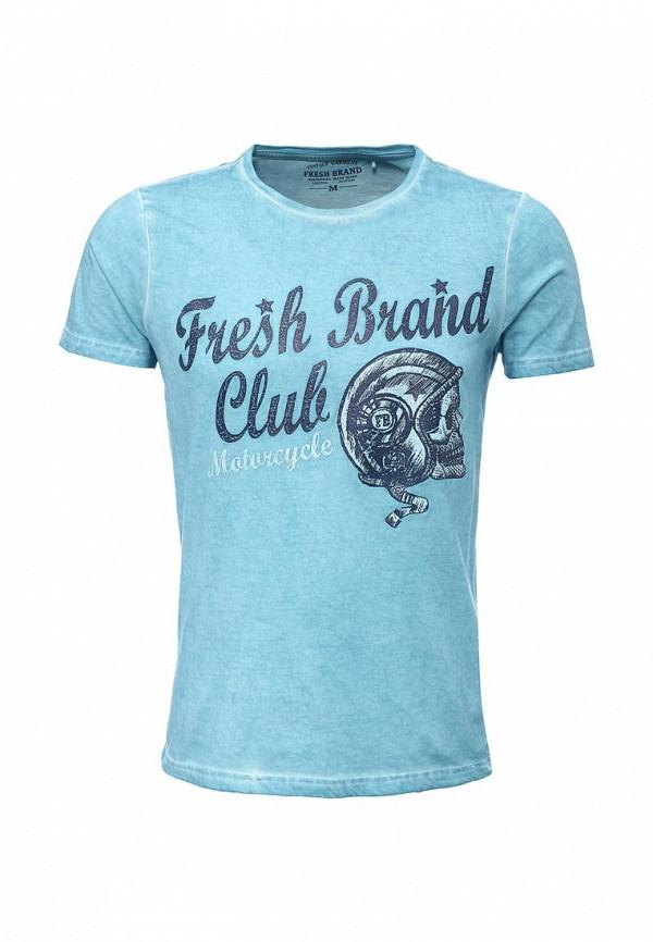 Футболка с надписями Fresh Brand SFTF471