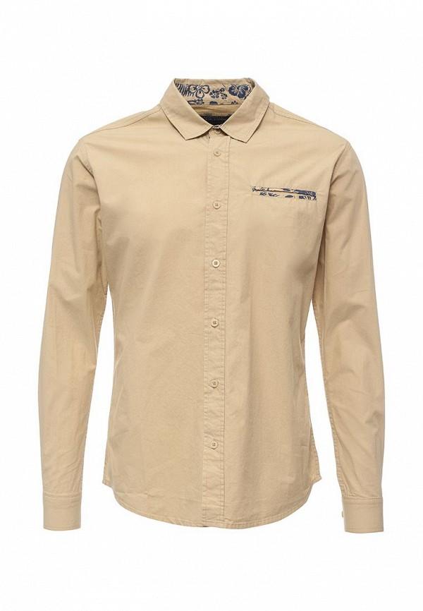 Купить мужскую рубашку Fresh Brand цвета хаки
