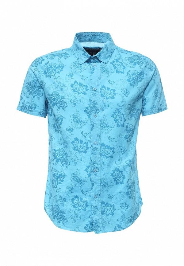 Купить мужскую рубашку Fresh Brand голубого цвета
