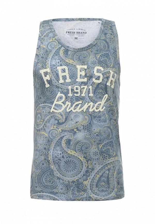 Купить мужскую майку Fresh Brand голубого цвета