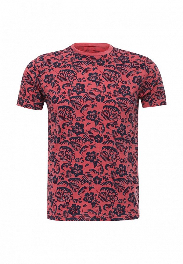 Купить мужскую футболку Fresh Brand красного цвета