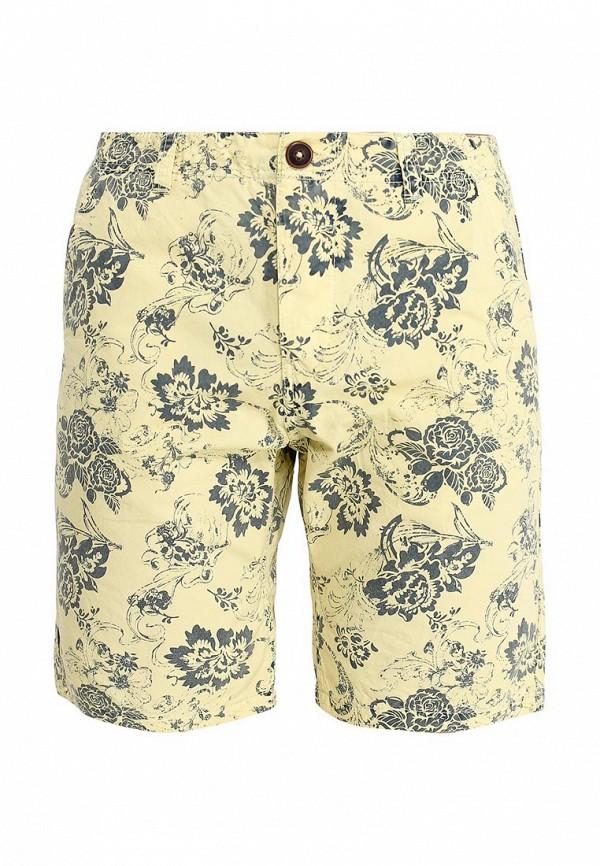 Купить мужские шорты Fresh Brand желтого цвета
