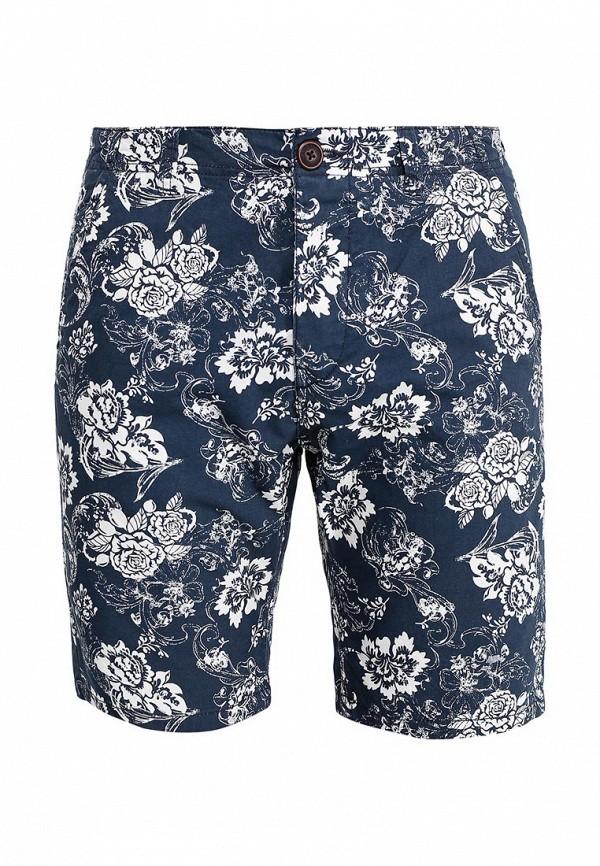 Купить мужские шорты Fresh Brand синего цвета