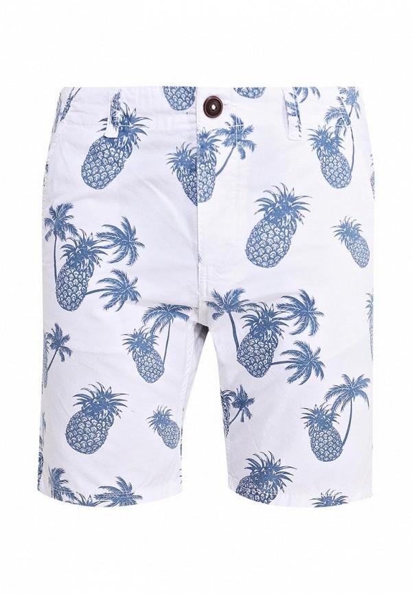 Купить мужские шорты Fresh Brand белого цвета