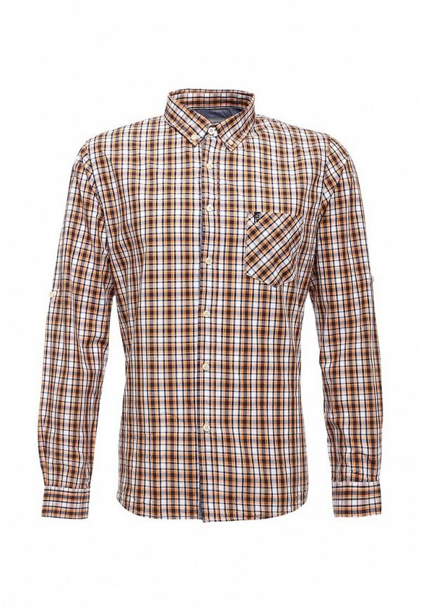 Купить мужскую рубашку Frank NY оранжевого цвета
