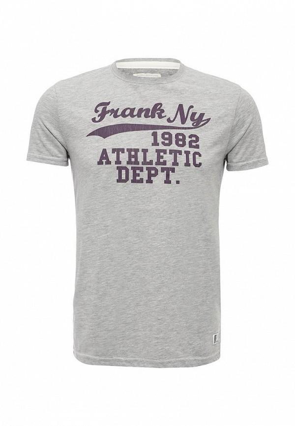Футболка с надписями Frank NY 16C020200014