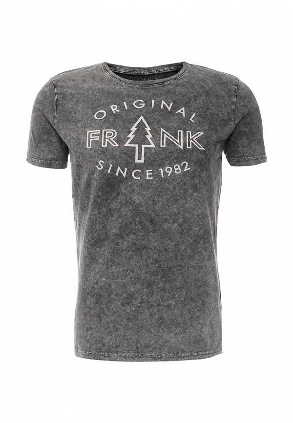 Футболка с надписями Frank NY 16C020220004