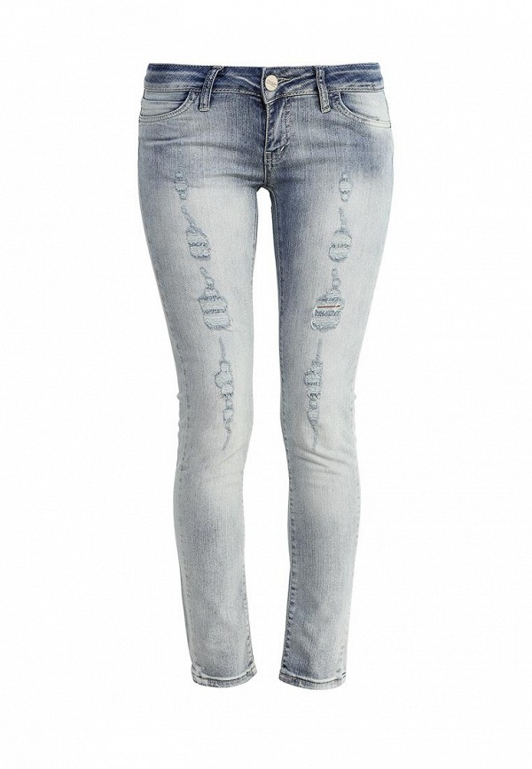 Зауженные джинсы Frank NY 16B110210007