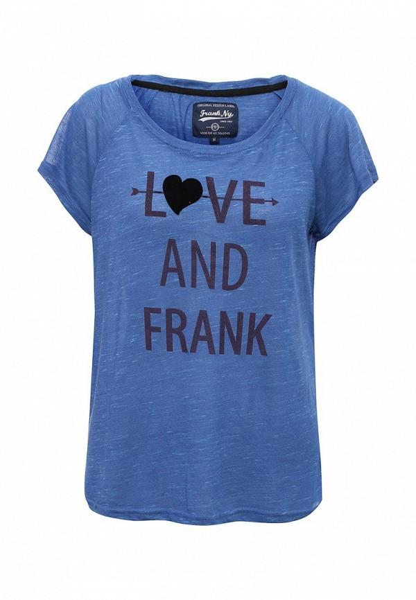 Футболка Frank NY Frank NY FR041EWTGG93 футболка frank ny frank ny fr041emtgf52