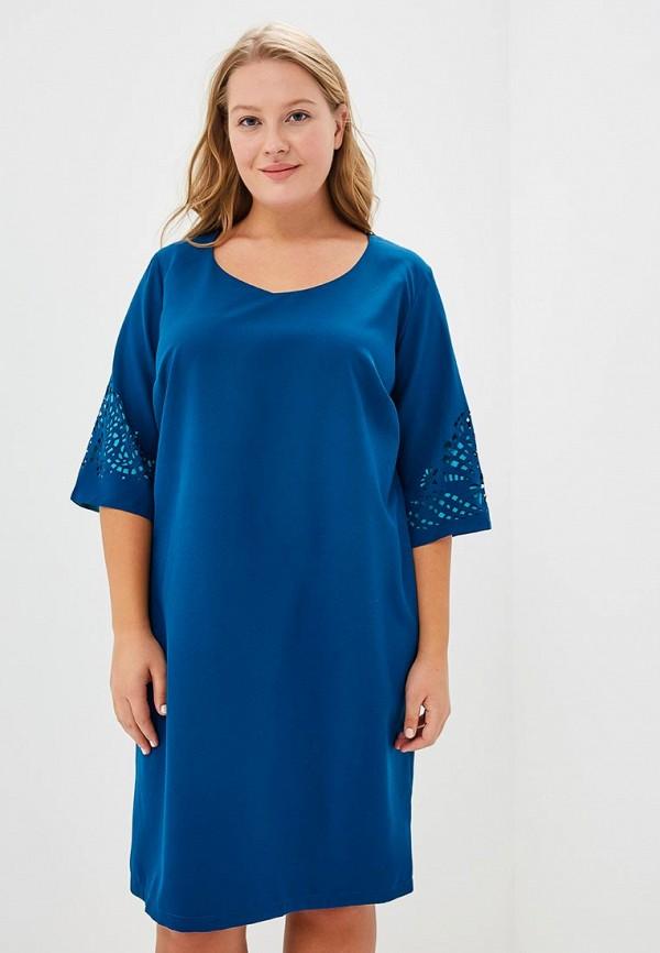 Купить Платье Fresh Cotton, FR043EWFE818, синий, Осень-зима 2018/2019