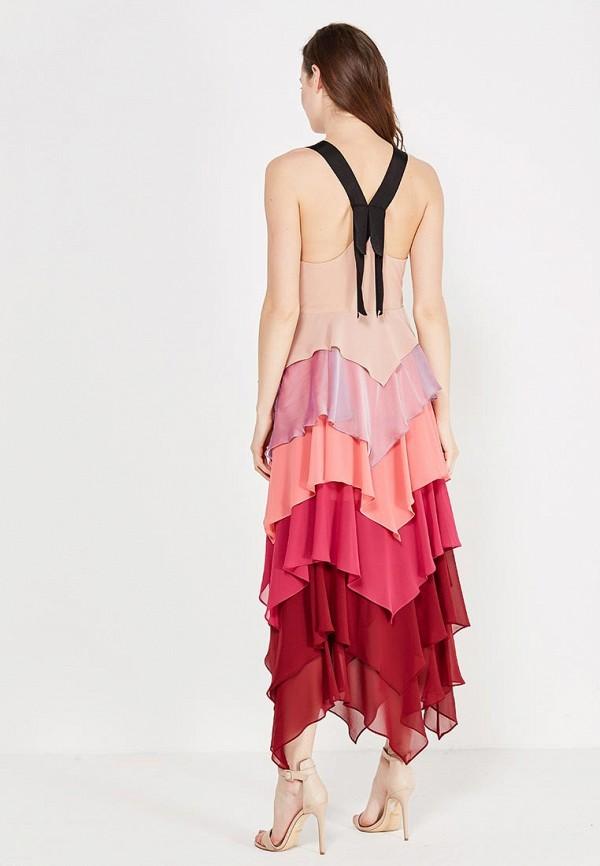Фото 3 - женское платье Free People разноцветного цвета