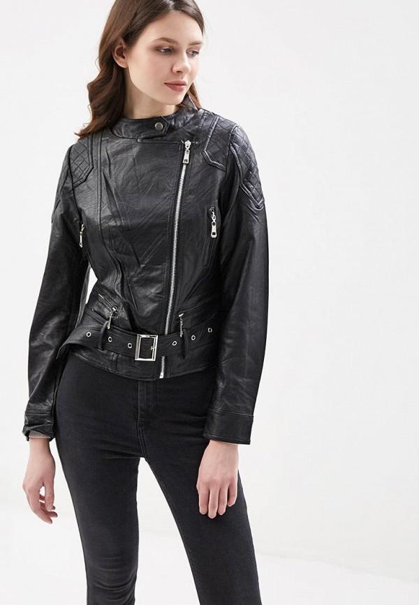 Фото Куртка кожаная Fronthi. Купить с доставкой