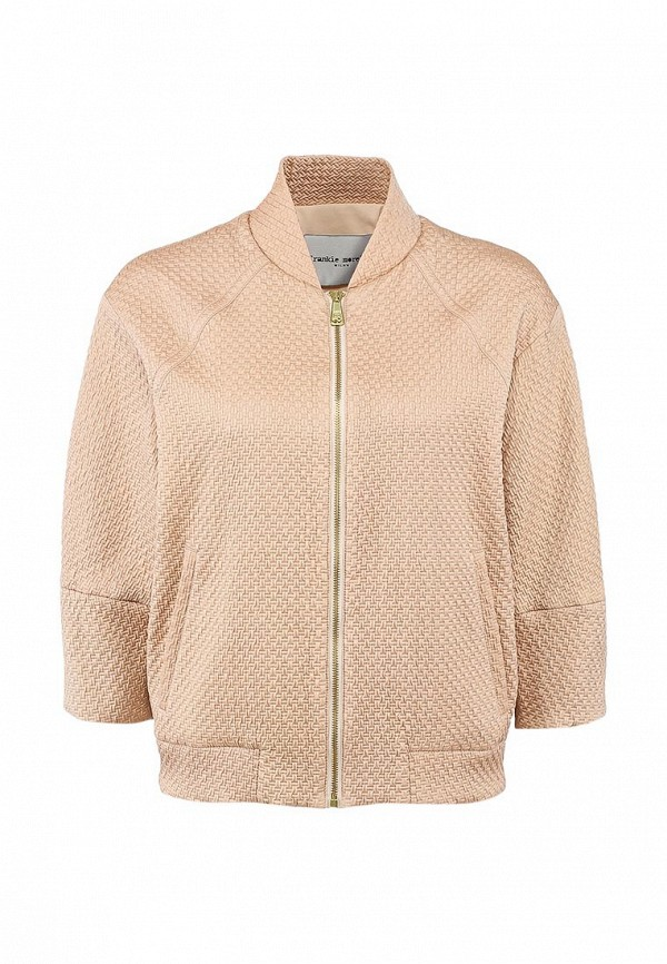 Куртка Frankie Morello FR458EWABO28. Цвет: бежевый