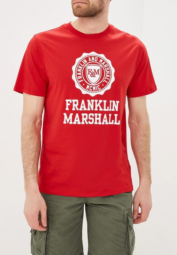 Футболка Franklin & Marshall Franklin & Marshall FR949EMACKB7 ветровка franklin