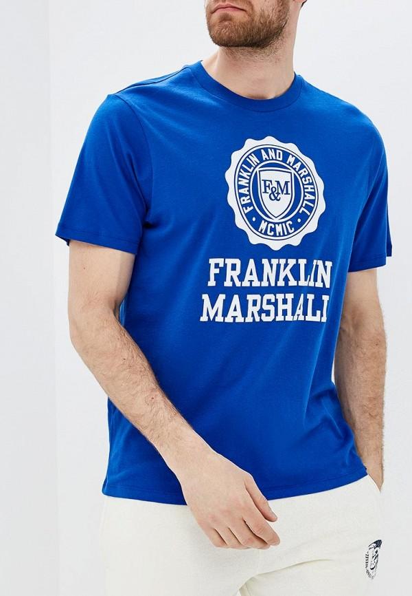 Футболка Franklin & Marshall Franklin & Marshall FR949EMACKB8 ветровка franklin