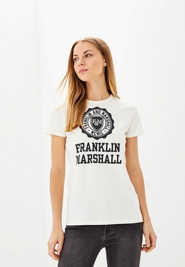 Футболка Franklin & Marshall Franklin & Marshall FR949EWAMDE3 цены онлайн