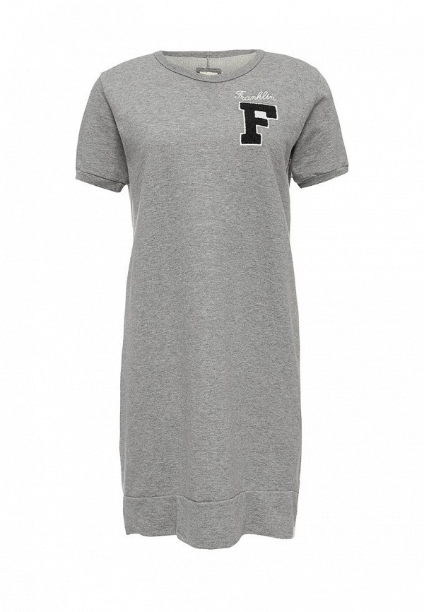 Вязаное платье Franklin & Marshall 200.dswal702am.s16.light grey melange