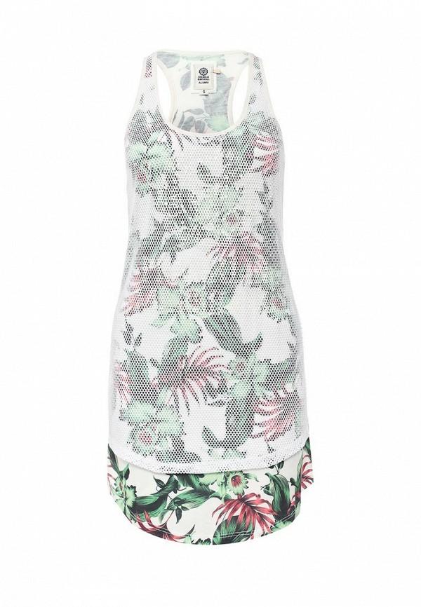 Платье Franklin & Marshall 200.dswal712an.s16.white vintage flower