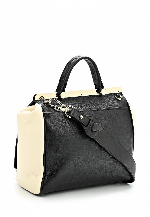 Средние сумки черные Furla купить в интернет-магазине Пан