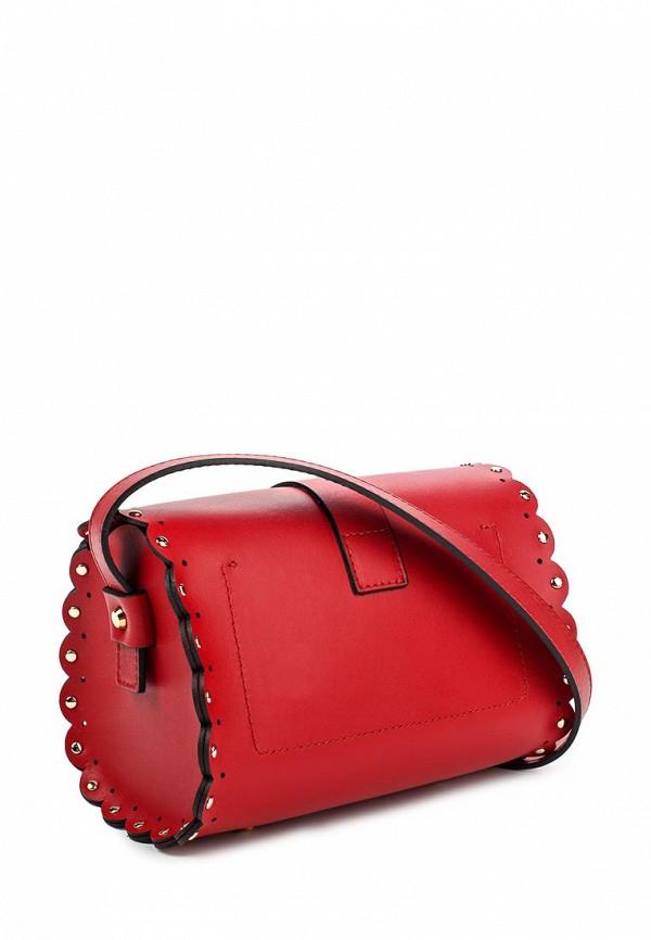 Купить Женская кожаная красная сумочка Furla Giulia в