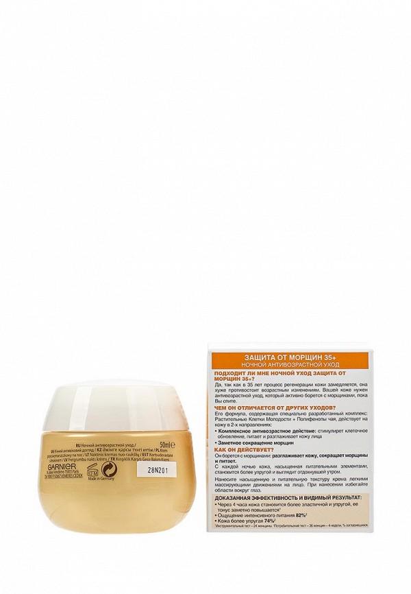 Крем Garnier для лица Антивозрастной уход, Защита от морщин 35+, ночной, 50 мл