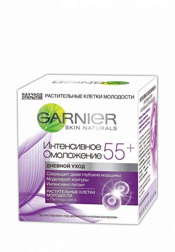 Крем Garnier для лица Антивозрастной уход, Интенсивное омоложение 55+, дневной, 50 мл