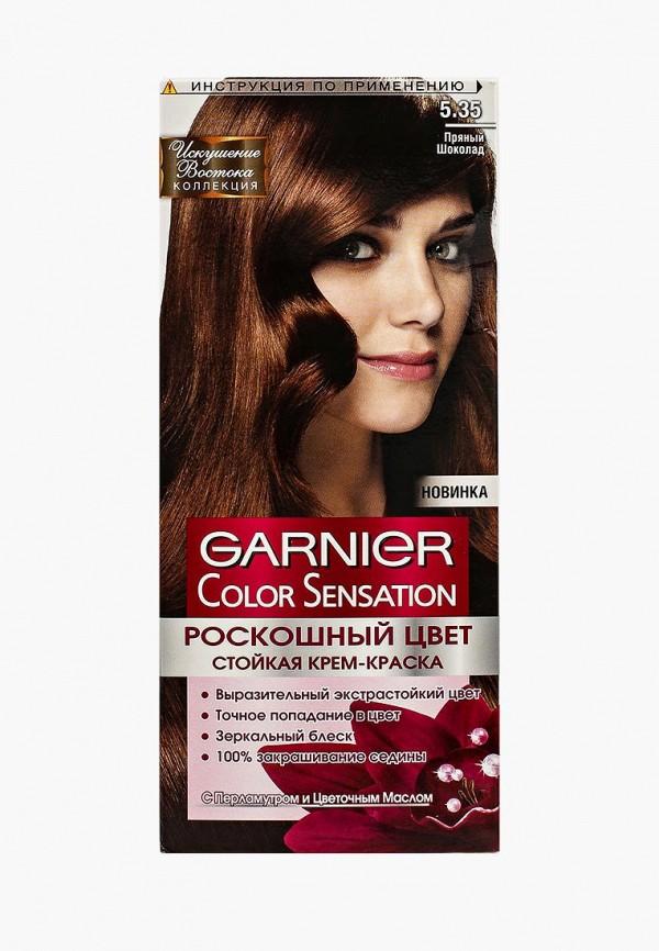 Купить Краска для волос Garnier, Color Sensation, Роскошь цвета, оттенок 5.35, Пряный шоколад, GA002LWIVS08, коричневый, Весна-лето 2018