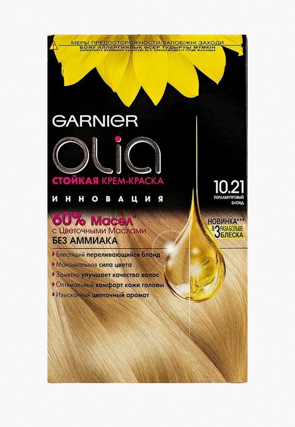 Купить Краска для волос Garnier, Olia , стойкая, без аммиака, оттенок 10.21, Перламутровый Блонд, GA002LWJCL96, бежевый, Весна-лето 2018