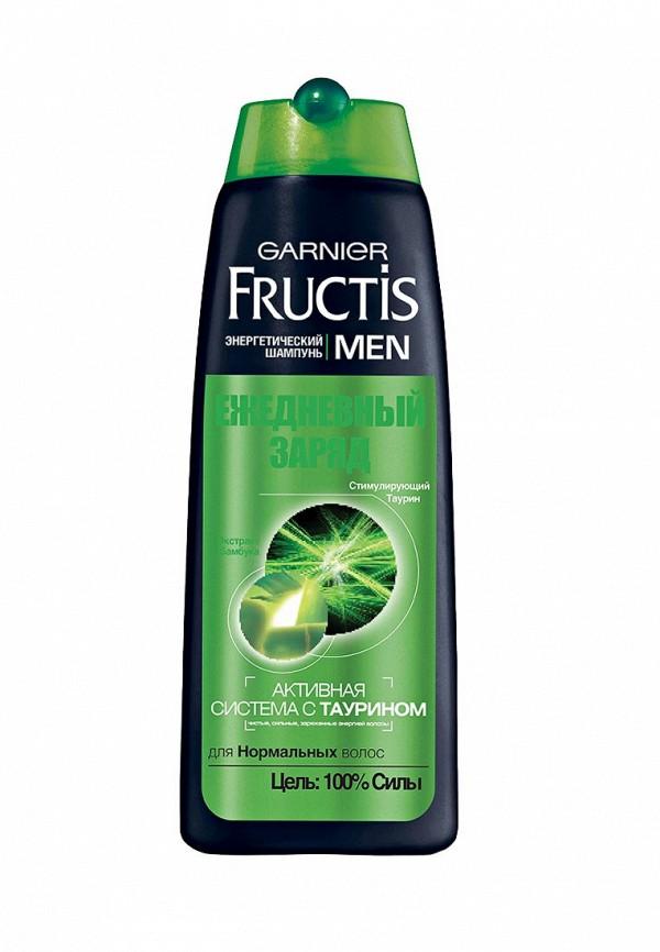 Шампунь Garnier Fructis Men, Ежедневный заряд, для нормальных волос, 250 мл
