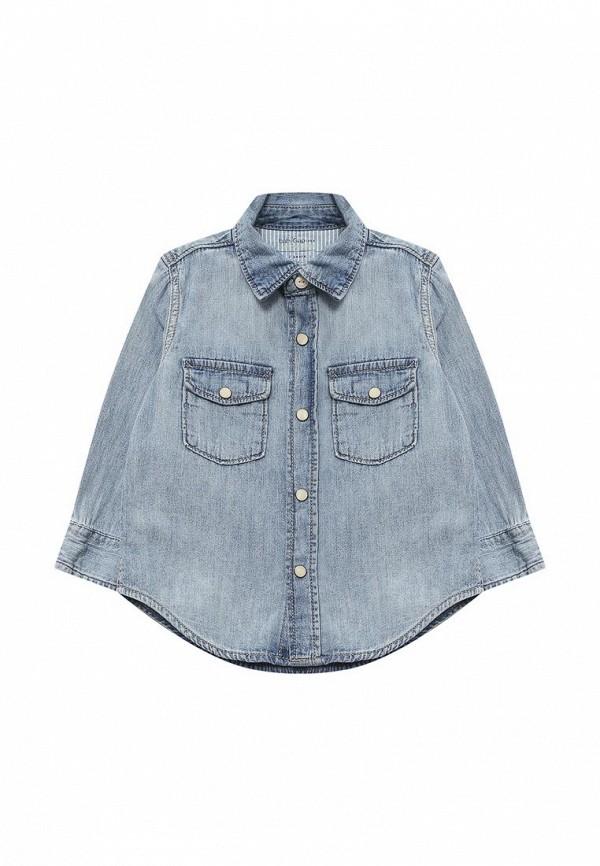 Купить Рубашка джинсовая Gap, GA020EBAHMX0, голубой, Весна-лето 2018