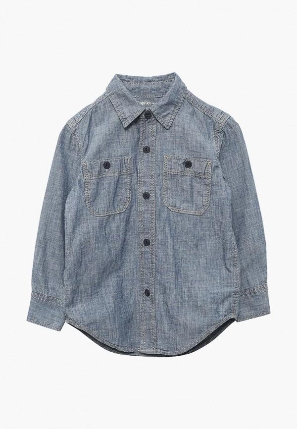 Рубашка джинсовая Gap Gap GA020EBAHPA5 рубашка gap gap ga020ewakpj8